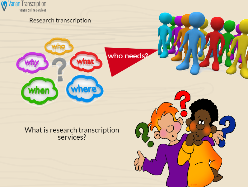 Research Transcription Services